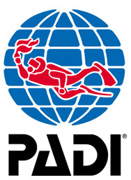PADI Logo diving courses